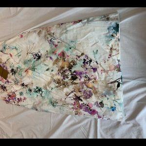 BANDOLERA LANDAM SLEEVELSS FLORAL LIKE DRESS NWT 4